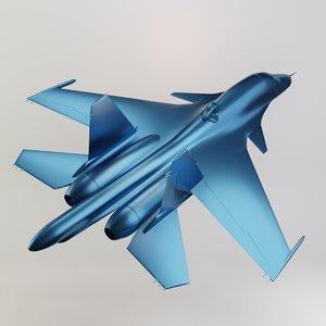 3D su-34 printing