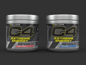 cellucor c4 extreme energy 3D model