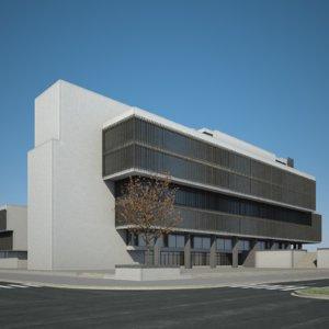 urban office building 3D