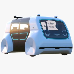 cedric bus 3D model