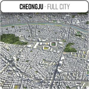 3D cheongju surrounding -