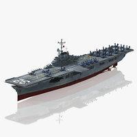 USS Leyte CV-32 CVS-32