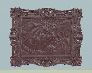 3D saint george ossetian folklore