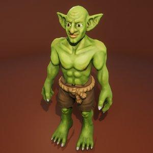 goblin character 3D