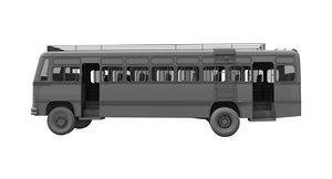 3D bus india