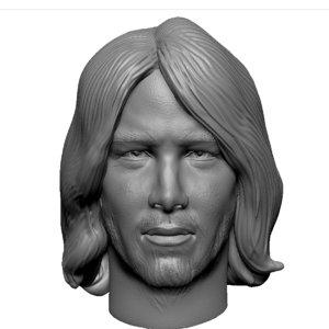 keane zbrush stl 3D model