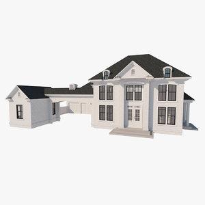 3D custom residence model
