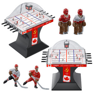 hockey table players 3D model