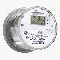 Digital electric meter enfhaze RGM-RTM-01