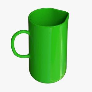 3D jug