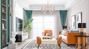 living room avangarde 3D