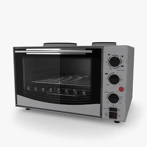 3D model mini oven