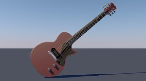 3D iconic les paul jr