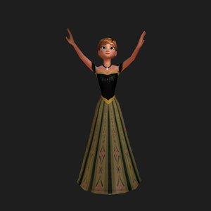 3D model anna -