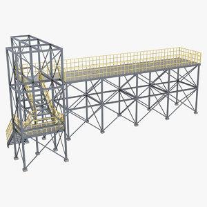 industrial platform 1 3D
