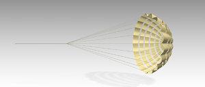 parachute brake model