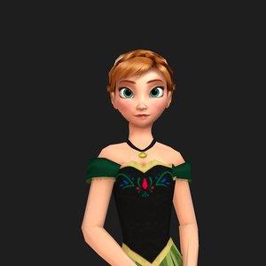 anna - 3D