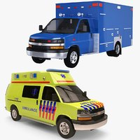 2020 Chevrolet Express EMS Ambulance Collection