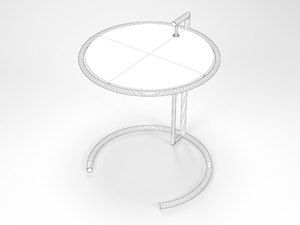 3D eileen gray table
