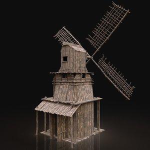 gen aaa medieval wooden 3D