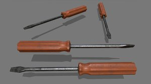 screwdriver 3 3D model