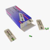 Covid 19 Test Kit Box Model