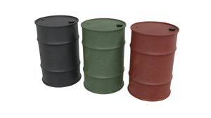 3D model barrels contains
