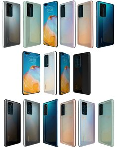 3D huawei p40 collections