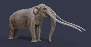 3D extinct animals version 9