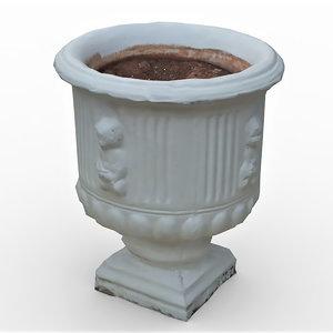 garden urn 2 model