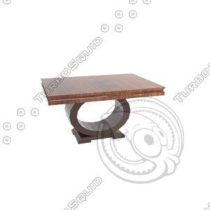 3D pm table modern model