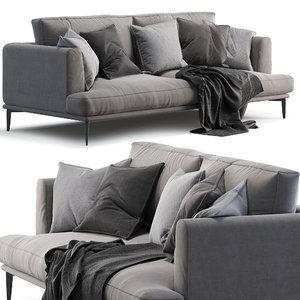 3D alexis sofa