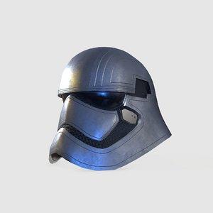 3D starwars helmet
