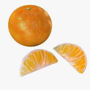 3D fruits model