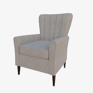 3D shackletons chair model
