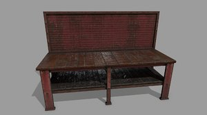 workbench bench 3D model