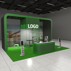 exhibition expo stand model