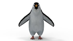 3D penguin animation