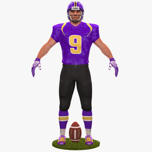 football player 2020 model