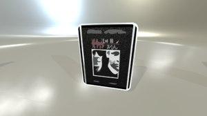 3D dvd disk toon