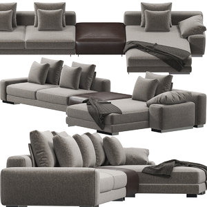 atlas sofa 3D model