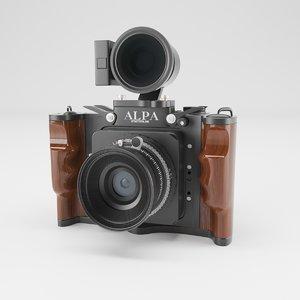 3D digital alpa camera