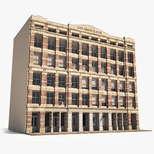 hyper-realistic soho facade 2 3D