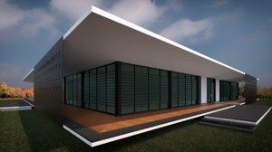home house revit 3D model