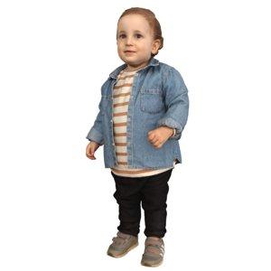 3D kid standing model
