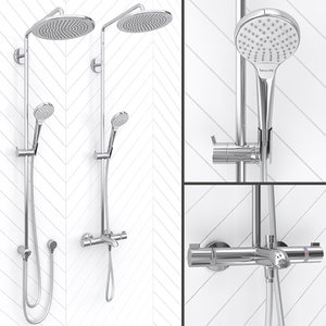 3D shower hansgrohe croma select