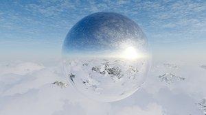 Snow Mountain HDRI 11K