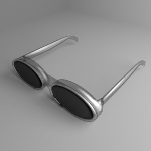 3D model safety goggles 2