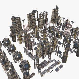 3D model nuclear refinery big