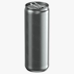 beverage sleek 350ml open 3D